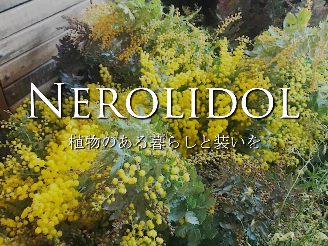 <連載#7> NEROLIDOL ー 植物のある暮らしと装いを ー